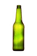 zielona pusta butelka po piwie