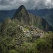 Machu Pichu Peru. Inca Temple