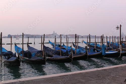 Fotobehang Venetie Venice italy at sunrise