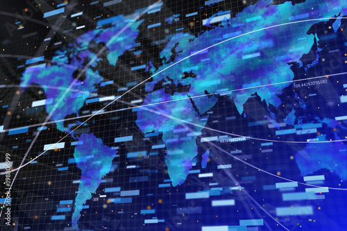 Abstract forex backdrop - 198806999