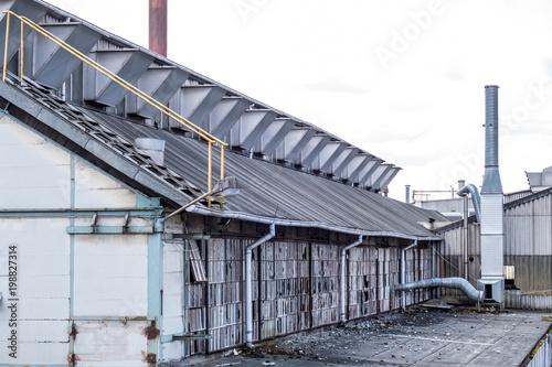 Foto op Canvas Oude verlaten gebouwen Stillgelegtes Werk