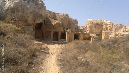 Fotobehang Cyprus Tombs of kings