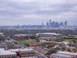 View Of Dallas Suburbs with Dallas Skyline in the Background