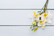Beauty orchid on a gray background. Spa scene. - 198869397