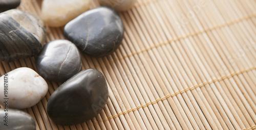 In de dag Stenen in het Zand galets chaud de massage