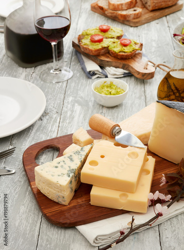 Cheese plate - 198879794