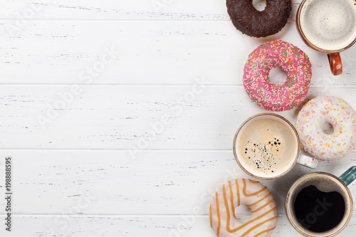 Coffee and donuts - 198888595