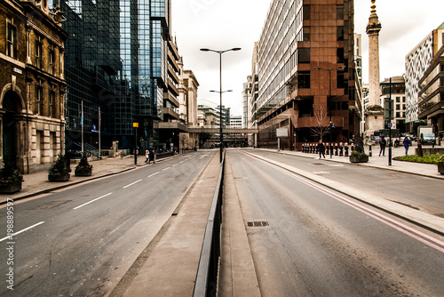 Foto op Plexiglas London empty London