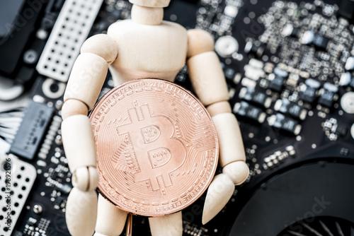 ビットコイン, 人形