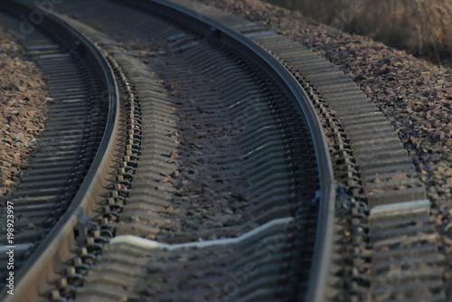 In de dag Spoorlijn レール