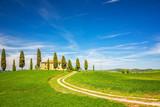 Tuscany landscape at spring , Italy - 198925557