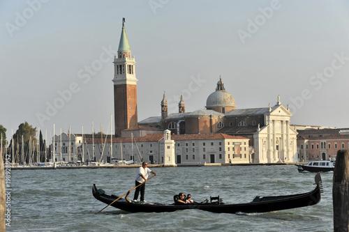 San Giorgio Maggiore, zbudowany przez Andrea Palladio 1565, światowego dziedzictwa UNESCO, Wenecja, Wenecja Euganejska, Włochy, Europa