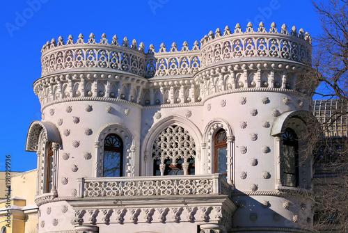 Foto op Aluminium Moskou Historical building with turrets