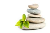 Zen pebbles balance - 198933576