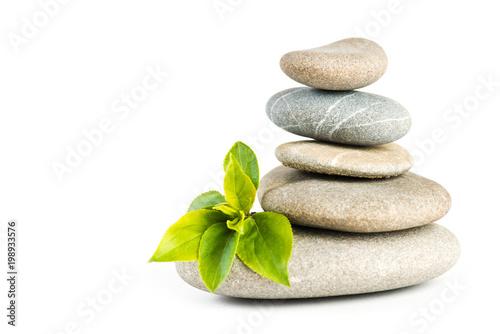 In de dag Zen Zen pebbles balance