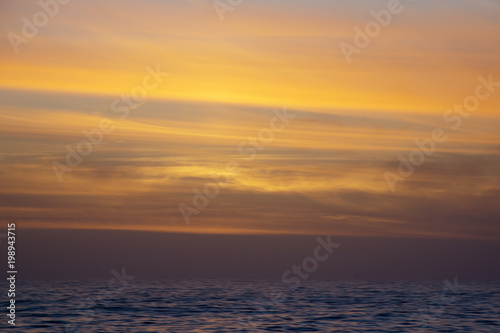 Fotobehang Antarctica Livingston Island Antarctica, golden sunset over water
