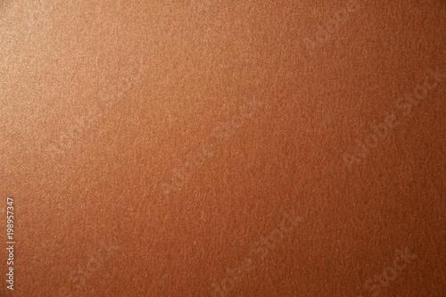 Tekstura brązowy brown błyskotliwości papieru tło. Zdjęcie makro