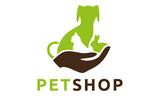 Pet Veterinary Dog Cat Rabbit Hund Katze Haustier Logo Vektor - 198964373