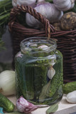 Preparation for pickling cucumbers - 198971566