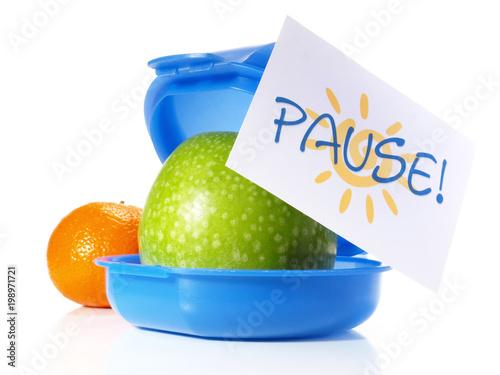 Fruchtige Pause