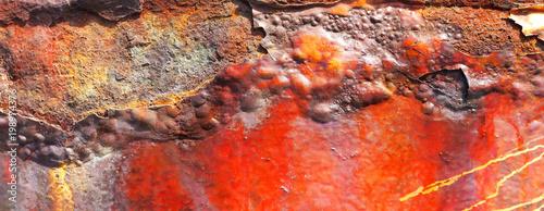 Metalloberfläche - Rost - 198974376