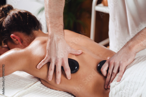 Hot Stone Massage - 198982792