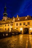 Old Town of Bratislava at Night