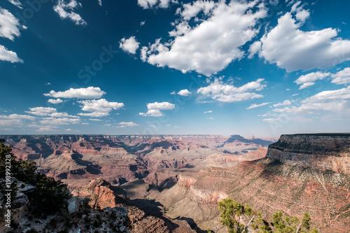 Fotobehang Nachtblauw Grand Canyon landscape