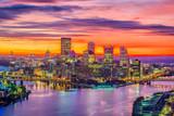 Pittsburgh, Pennsylvania, USA Skyline