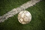 Alter Fussball und Line