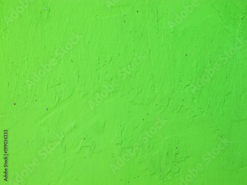 Green paint wall texture background - 199036333
