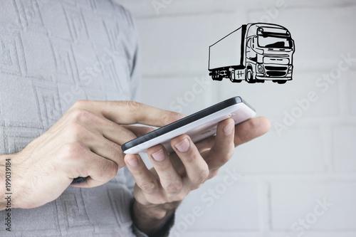 cargo transportation on land - 199039184