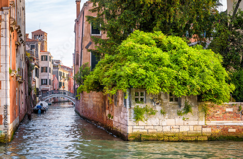 Fotobehang Venetie Scenic view of the streets in Venice, Italy