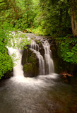 Small Falls Above Multnomah