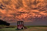 Prairie Storm Saskatchewan Sunset - 199058946