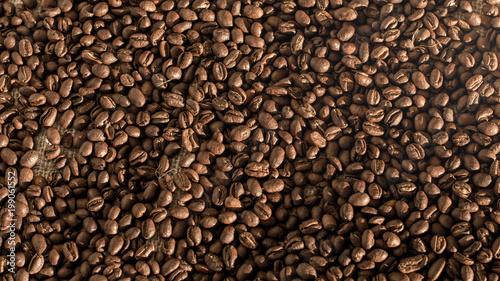 Fotobehang Koffiebonen Cafe