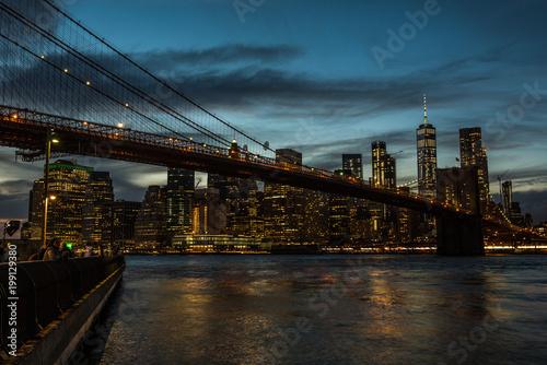 Foto op Plexiglas Brooklyn Bridge New York Brooklyn Bridge