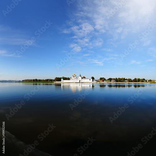Foto op Plexiglas Zwart Russia, Kostroma city, Ipatievsky monastery