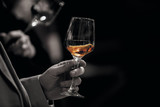 Rose Wine Glass Tasting - top best view  - 199148738