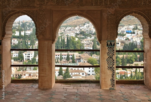 Granada city, Spain