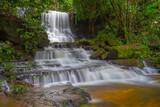 Mun daeng Waterfall, the beautiful waterfall in deep forest at Phu Hin Rong Kla National Park ,Phitsanulok, Thailand