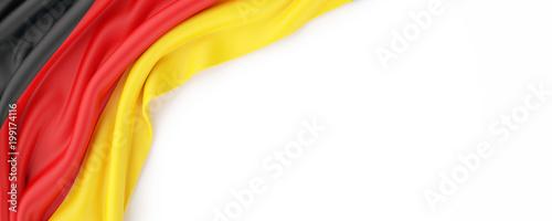 Leinwanddruck Bild Germany Flag