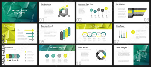 Business presentation templates - 199176162