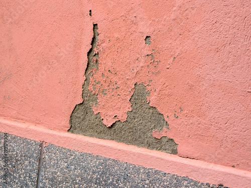 Foto op Plexiglas Baksteen muur Mauerschaden