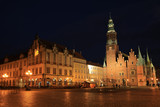 The historic Town Hall of Wroclaw in Silesia, Poland