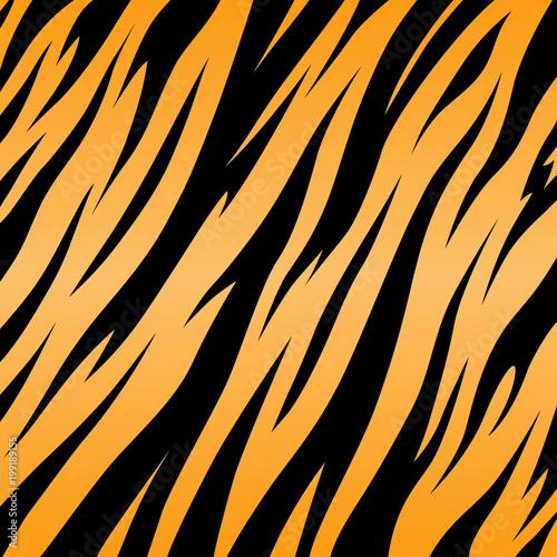 Fototapeta Print tiger texture black and orange background