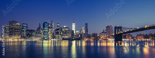 View of Manhattan by night - 199194711
