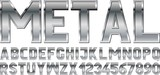 metal font - 199209768