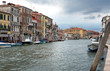 view of Venice and the canal, Italy