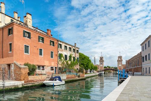 Wenecja, Włochy, dzielnica Castello